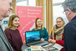 Auch das Erasmus-Programm wird vorgestellt. Foto: SMMP/Ulrich Bock