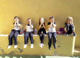 Kinder der Schule in Puerto de la Cruz auf Teneriffa. Foto: Wiebke Droege